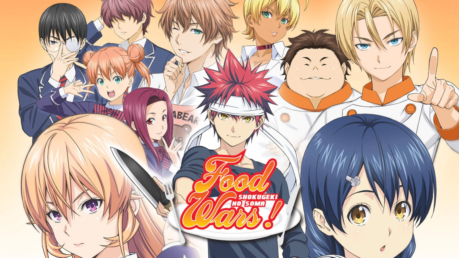 Food Wars! The Fifth Plate Coming On Crunchyroll Spring ...