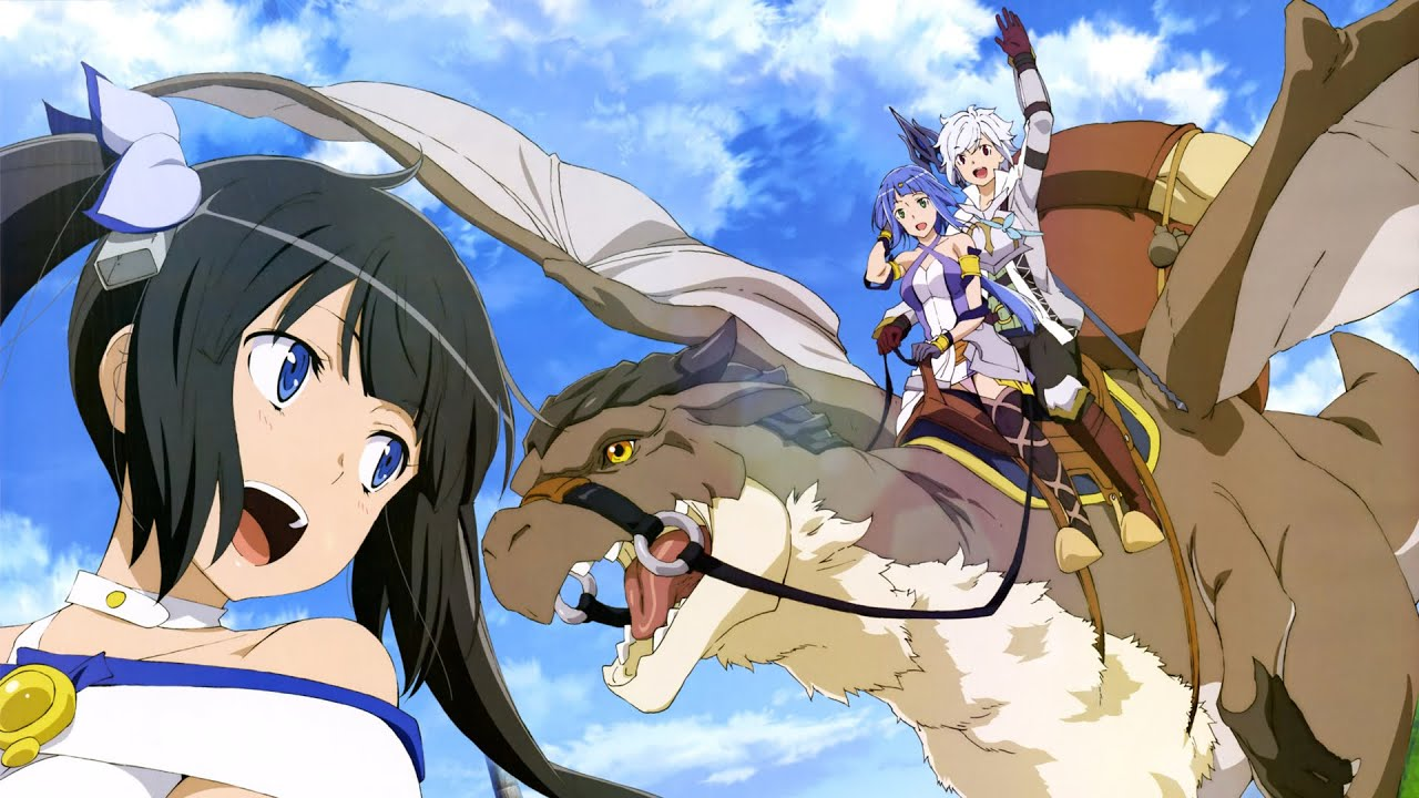 Danmachi: Is It Wrong to Try to Pick Up Girls in a Dungeon