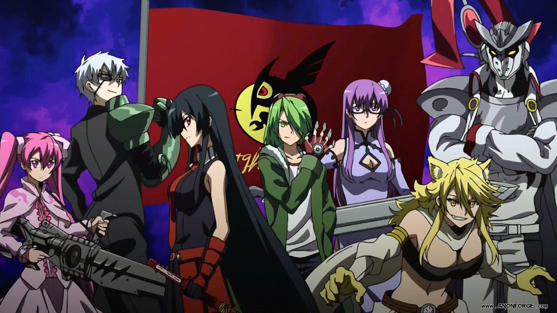 Akame ga Kill in animes similar to hunter x hunter