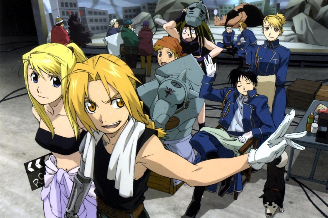 Fullmetal Alchemist Brotherhood  in animes like hunter x hunter