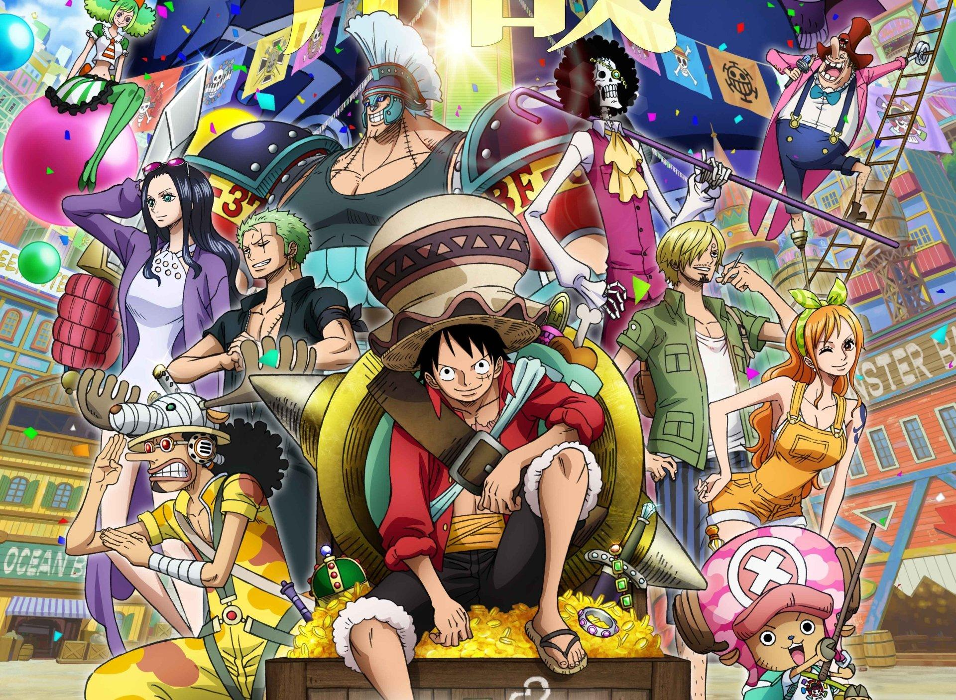 One Piece in shows like hunter x hunter