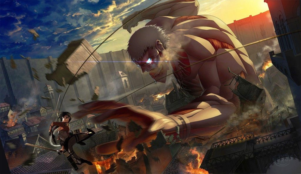 best anime you must watch Attack On Titan