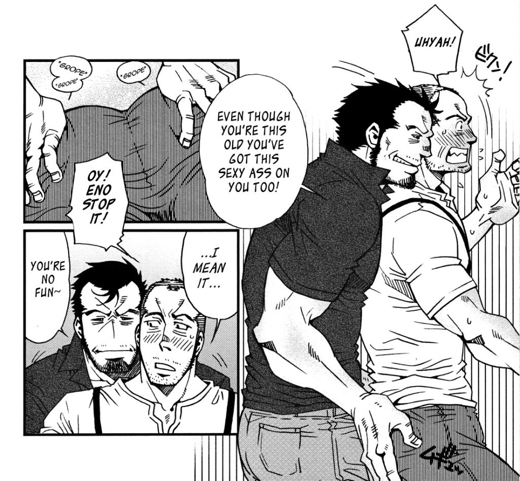 Class Reunion a Bara Manga