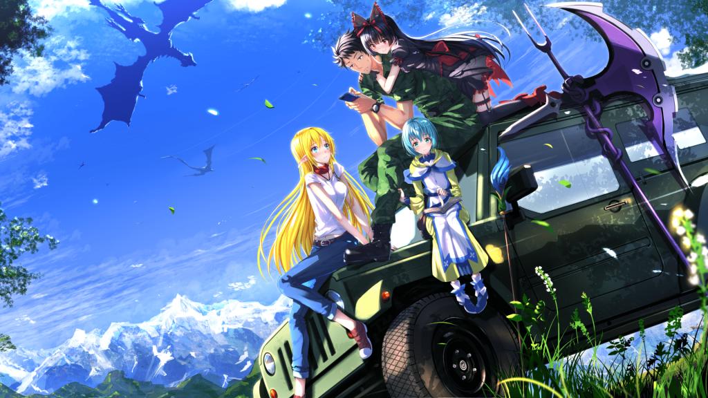 top 10 isekai anime on crunchyroll Gate