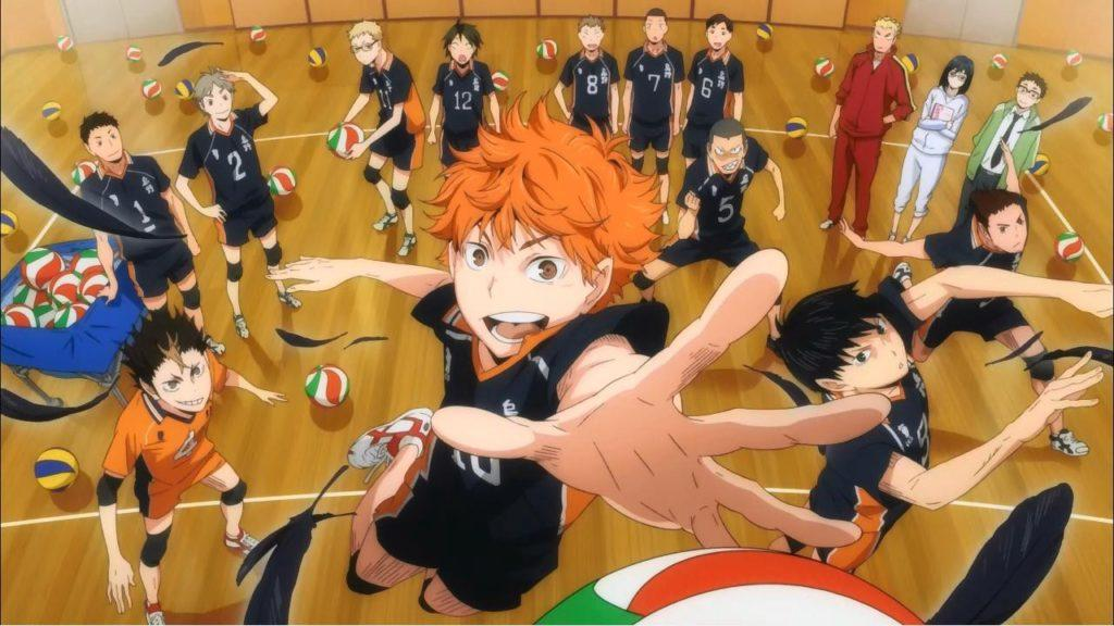 all time best anime Haikyuu!!