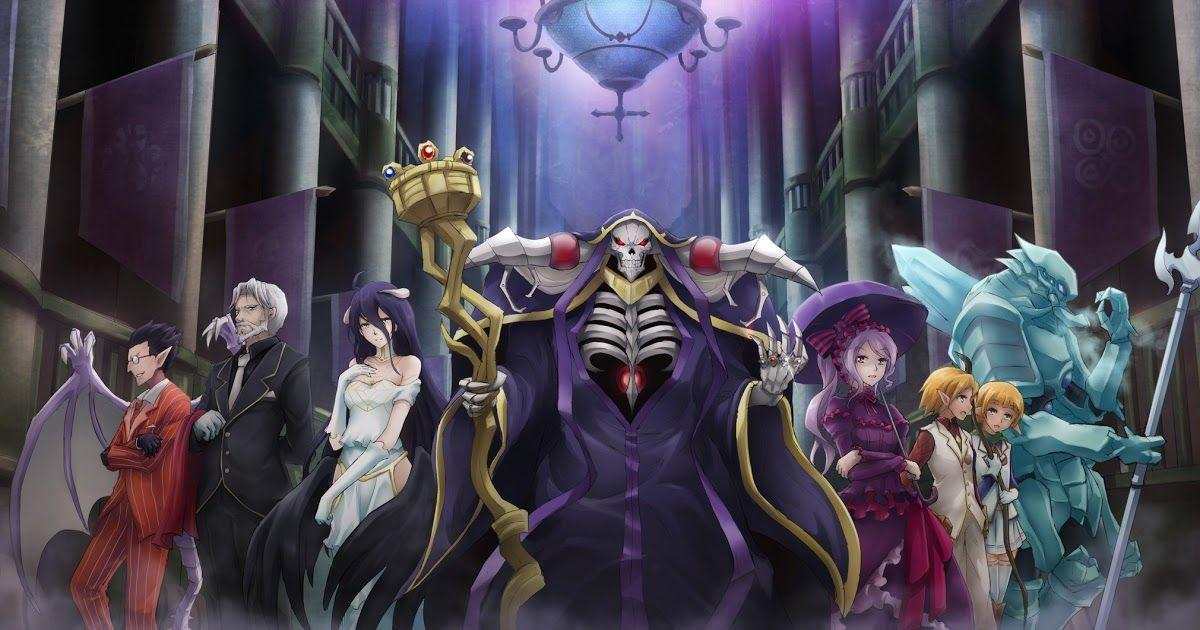 Best isekai anime with overpowered main character like how a realist hero rebuilt the kingdom, Overlord