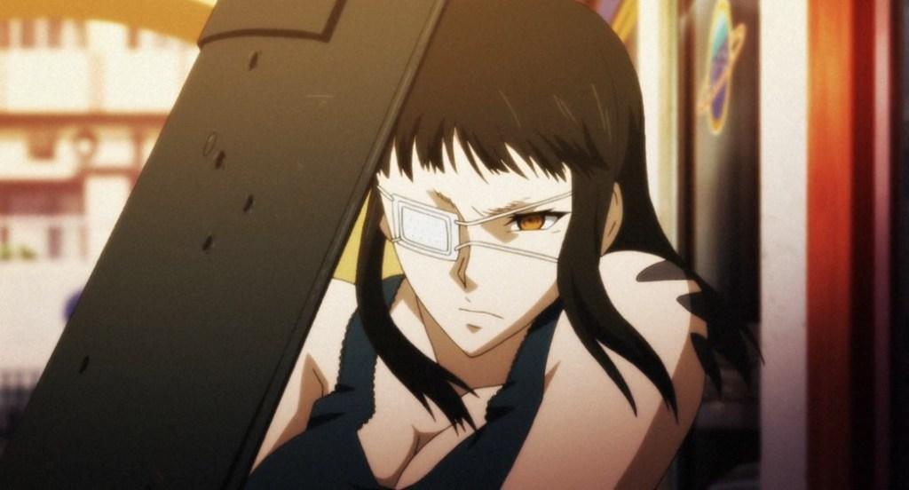 Buffed Anime Woman Sofia Velmer From Jormungand