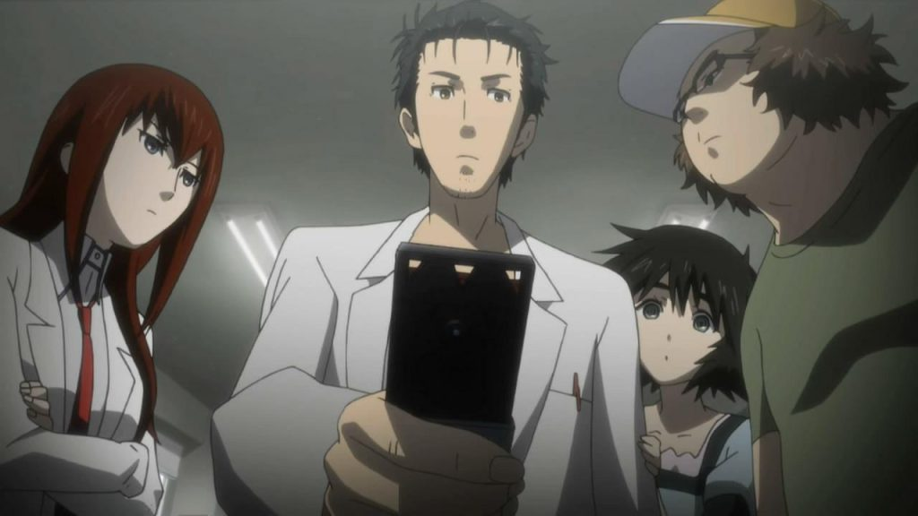 top 10 anime with best animation Steins;gate