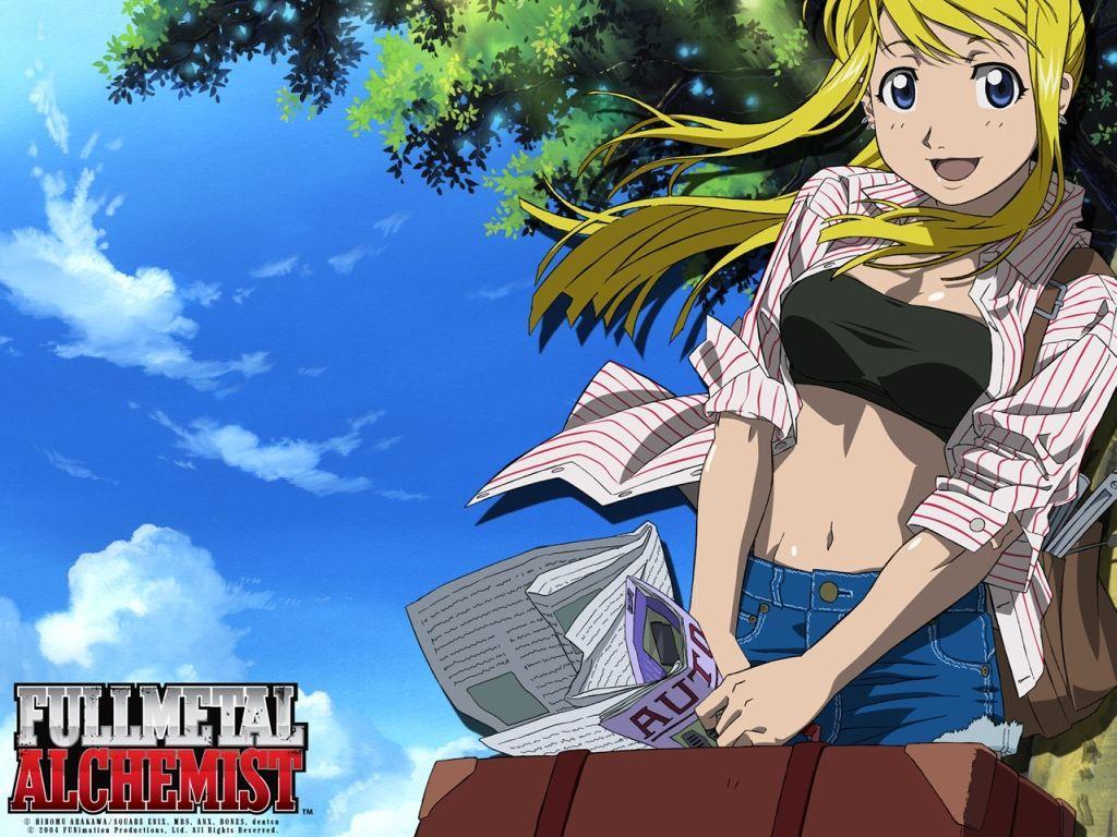 Anime waifus Winry Rockbell
