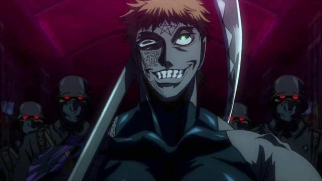 Zorin Blitz Anime women with muscles from Hellsing