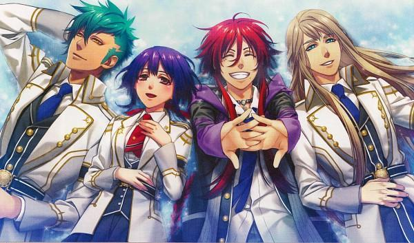 most similar anime to Dance With Devils, Kamigami No Asobi