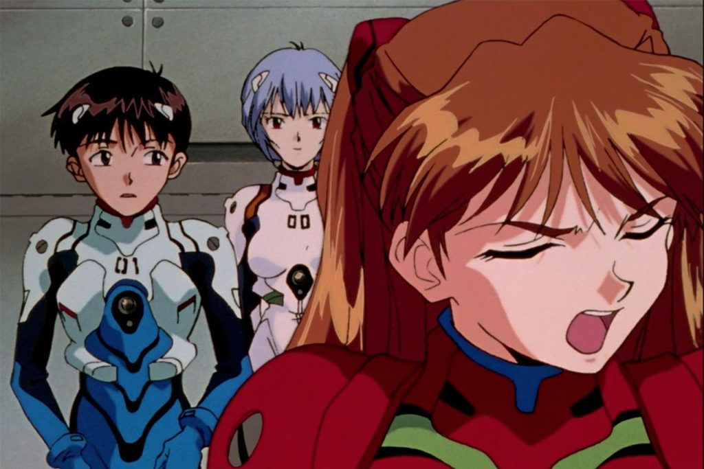 how to watch evangelion anime