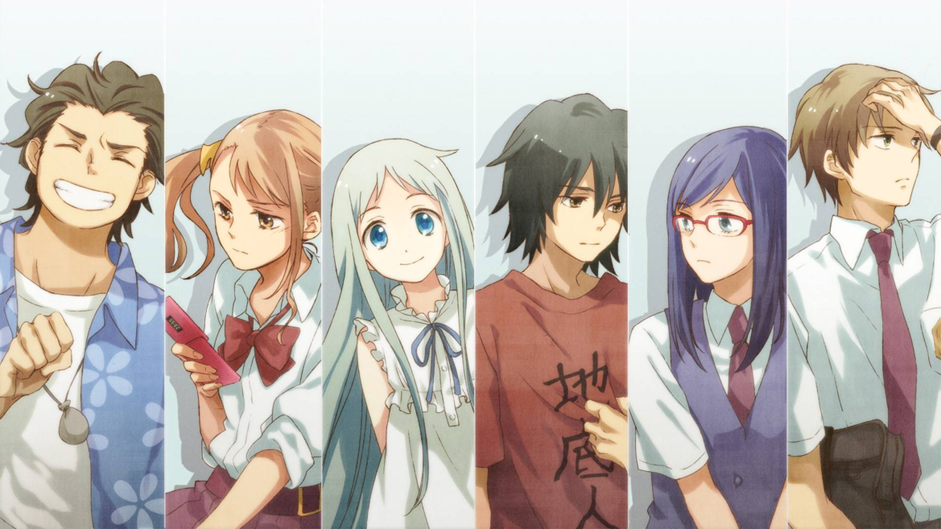 Emotional anime AnoHana- The Flower We Saw That Day