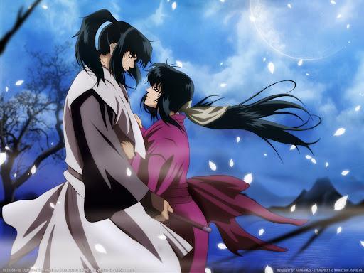 romantic samurai anime Basilisk