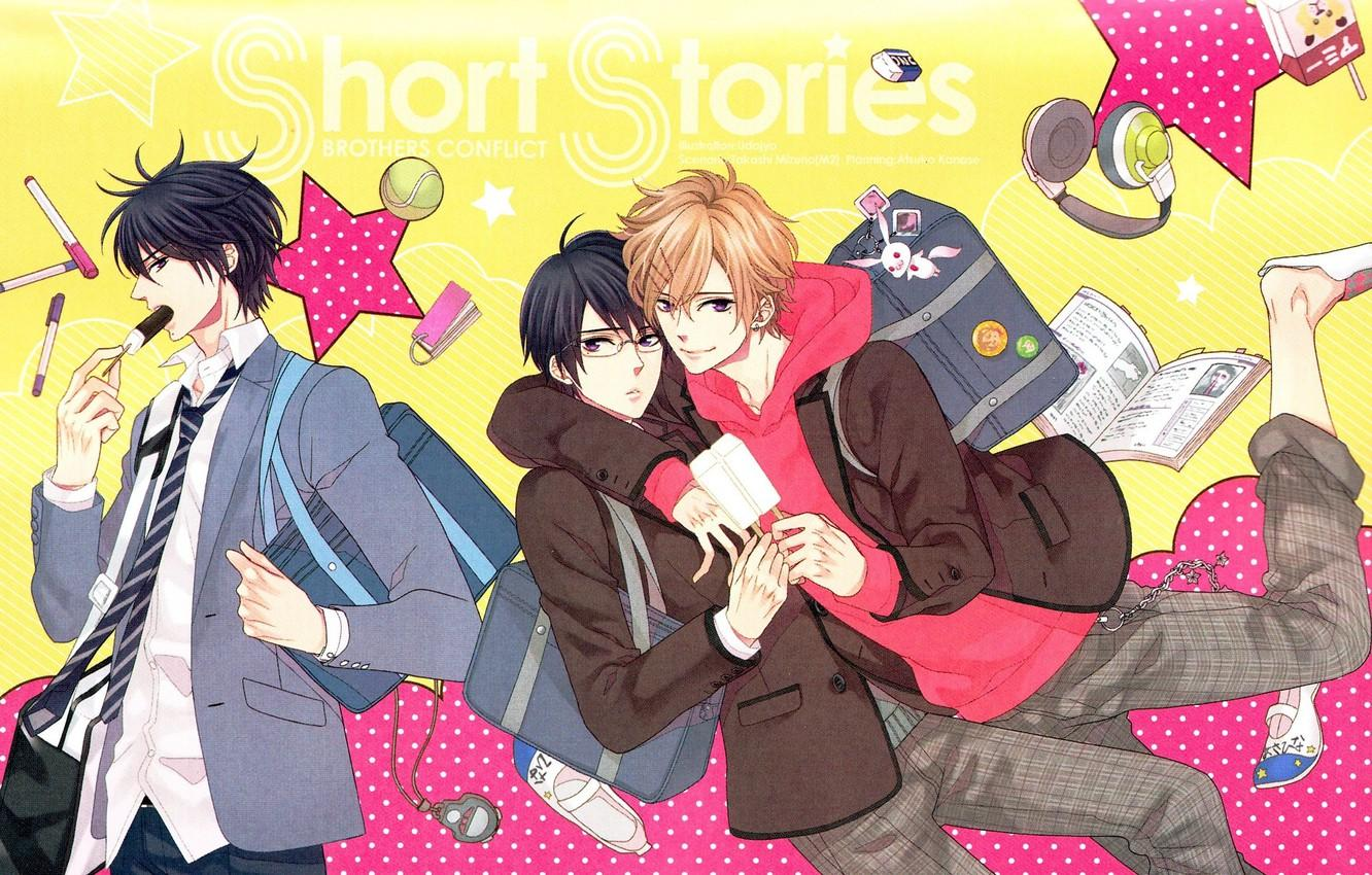 anime like Dance With Devils, brothers conflict