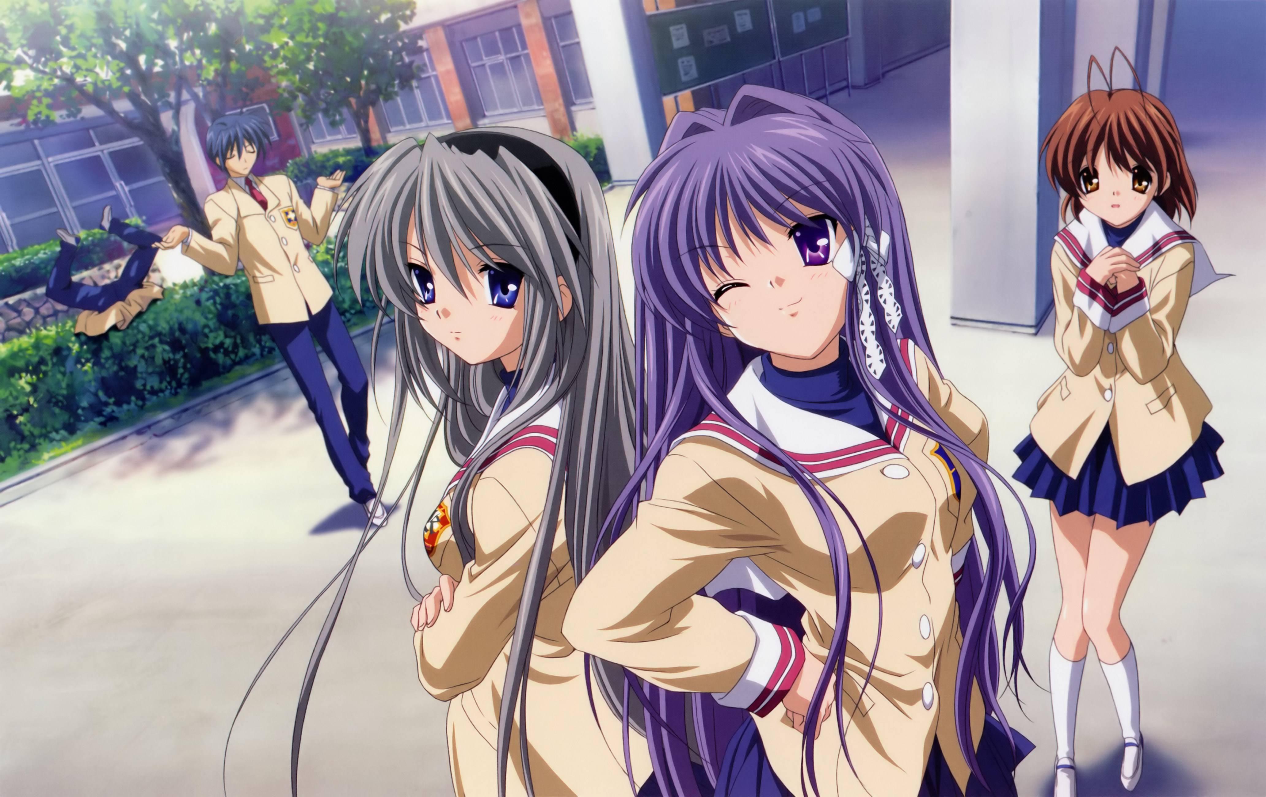 Depressing Saddest anime about school life, Clannad