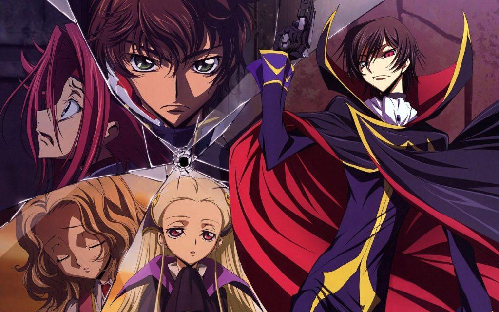 Best Anime like Death Note, Code Geass Lelouch of the Rebellion