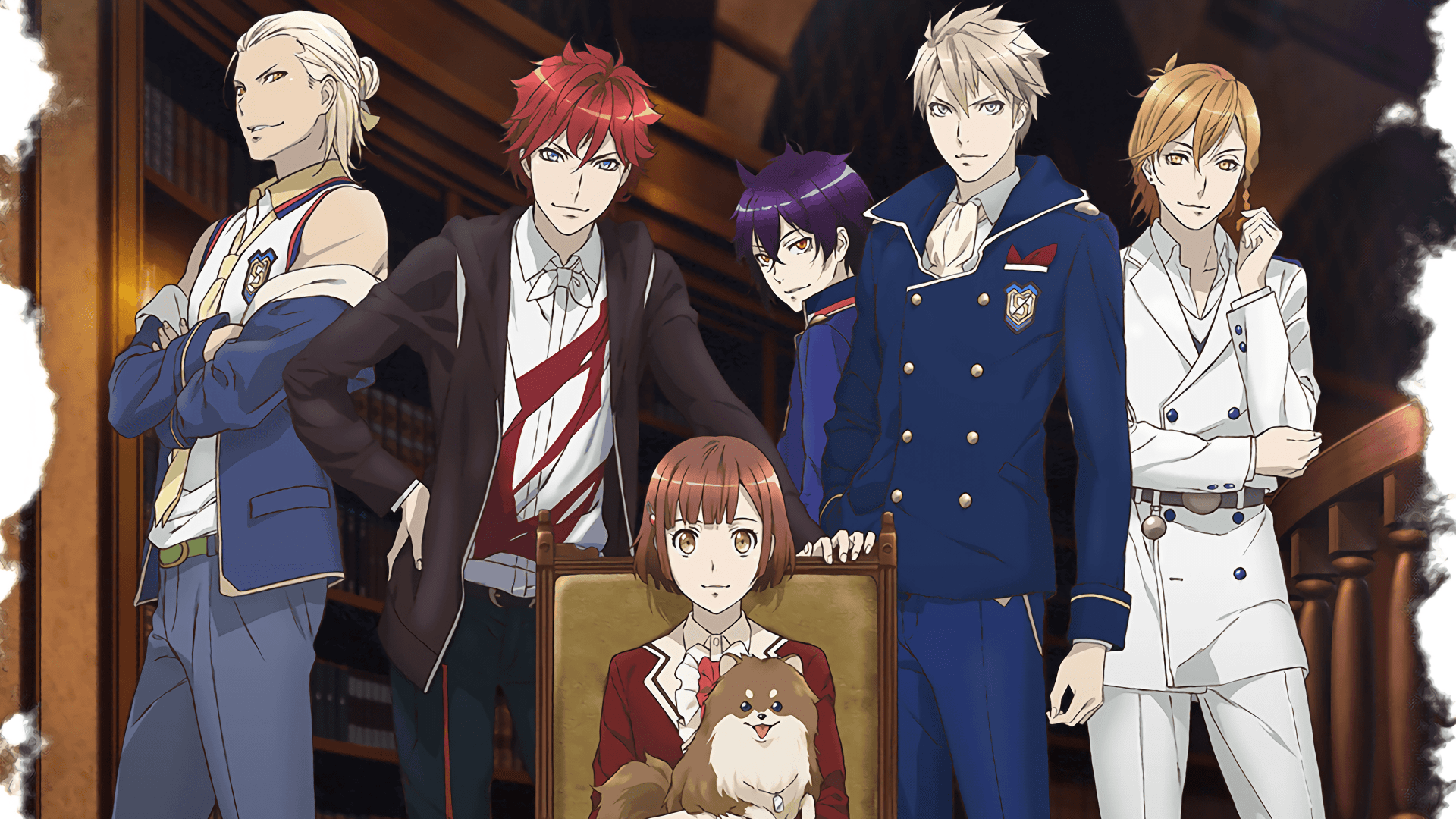 anime like brothers conflict dubbed Dance with Devils