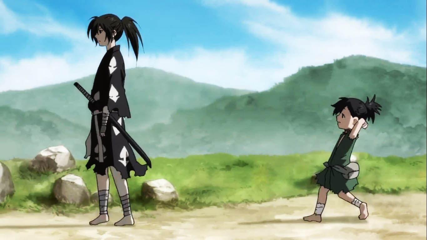 samurai anime like To Your Eternity, Dororo