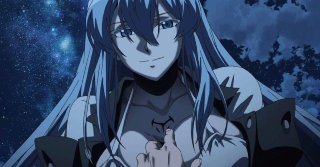 anime character types, Mayadere, Esdeath from Akame Ga Kill