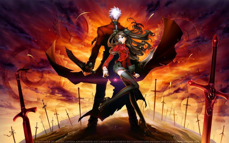 best anime like Darwin's Game, Fate/Stay Night