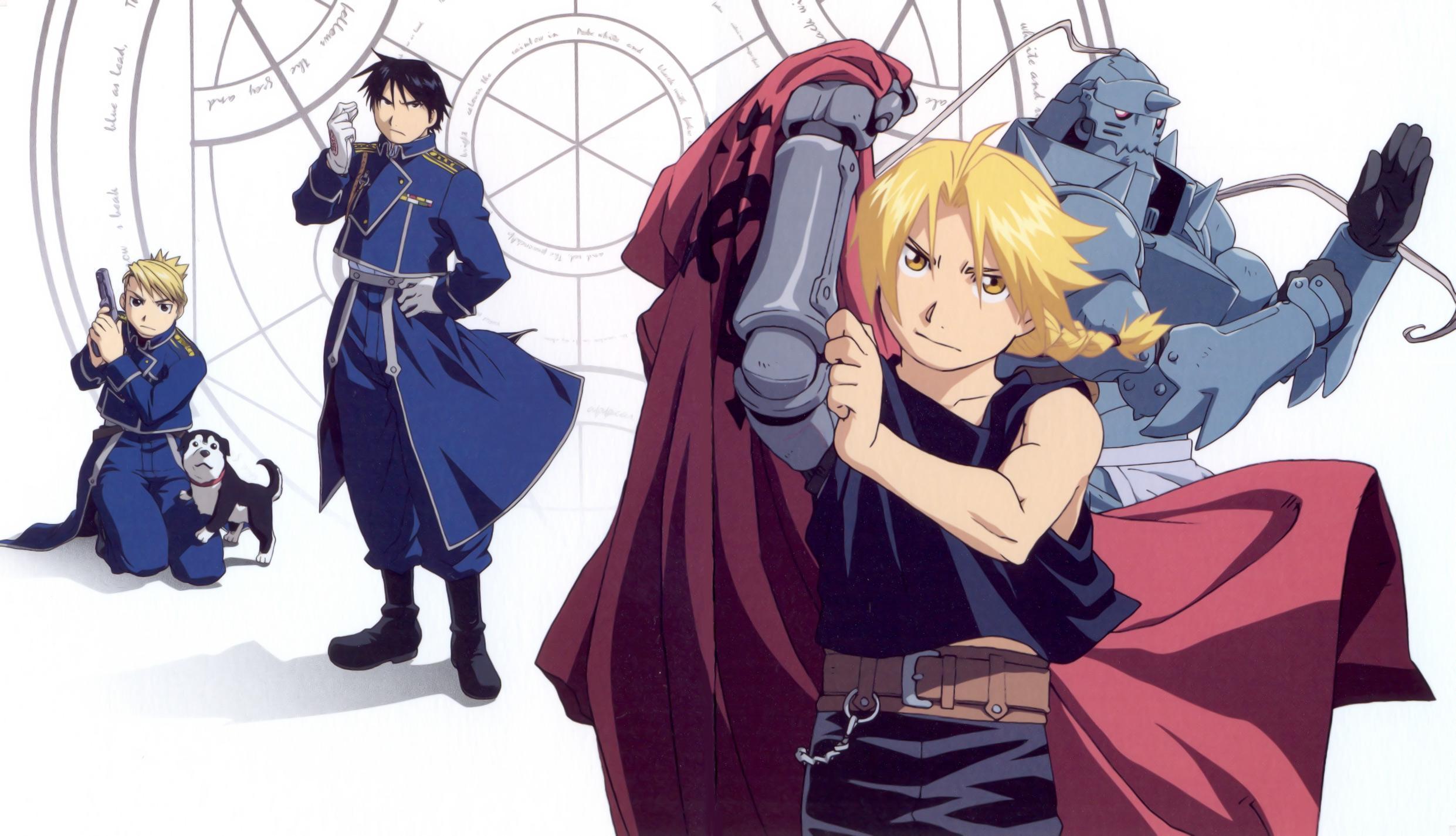 Fullmetal Alchemist: Brotherhood, Suspense Thriller anime