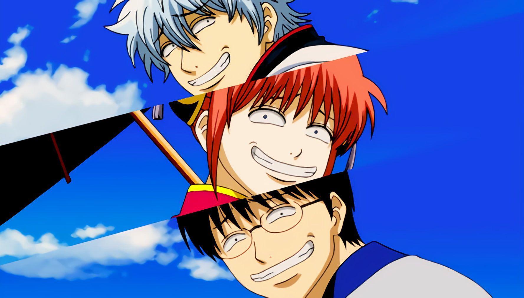 comedy anime about samurai, Gintama