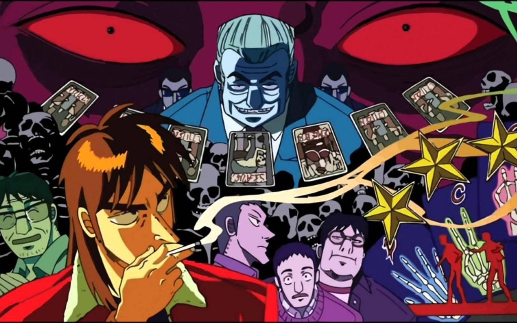 anime about gambling similar to Death Note Kaiji: Ultimate Survivor