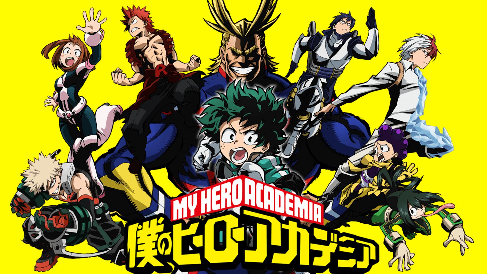 anime about heroes like Demon SLayer, My Hero Academia