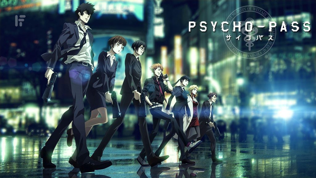 Anime shows just like Death Note Psycho-Pass