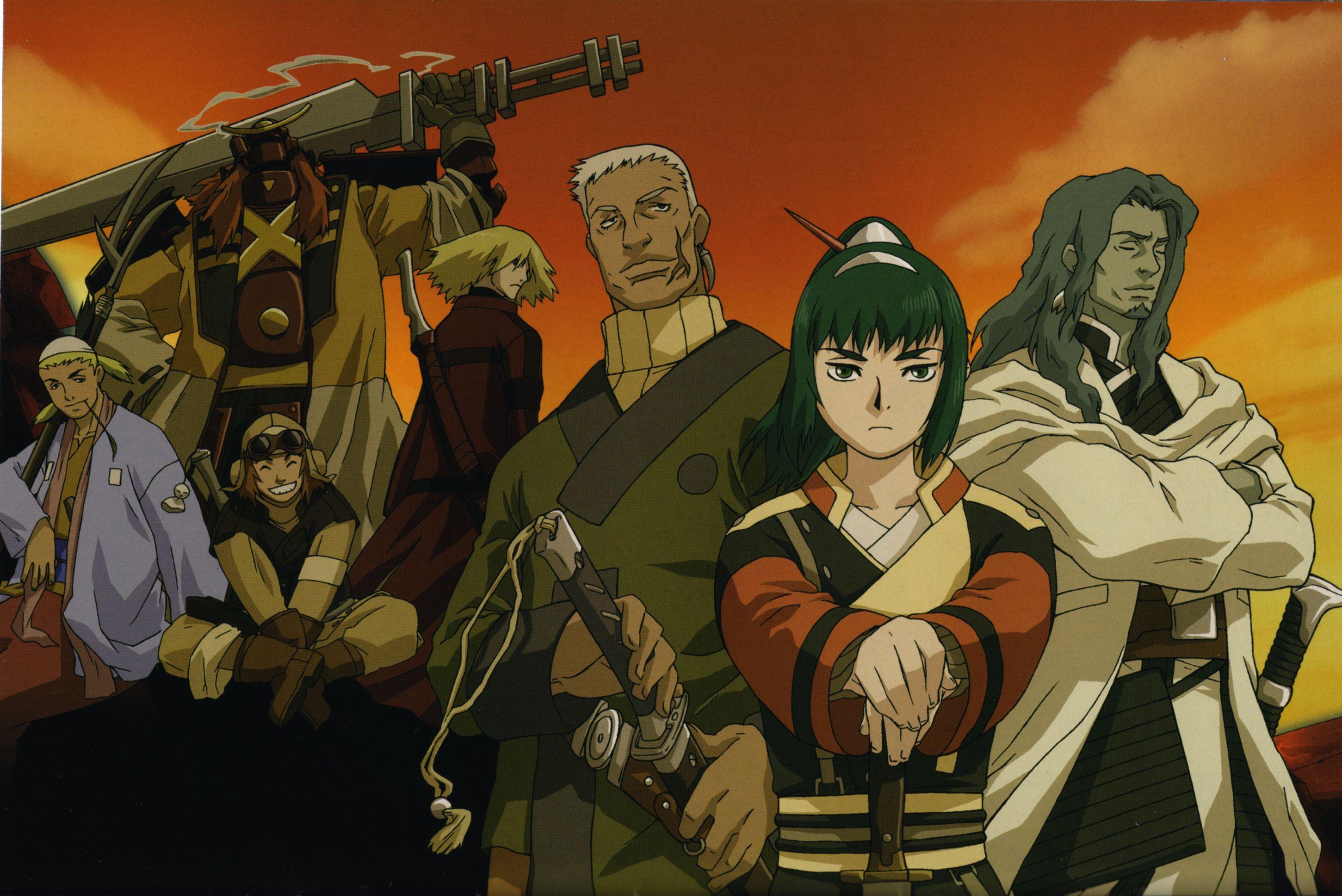 best samurai anime Samurai 7