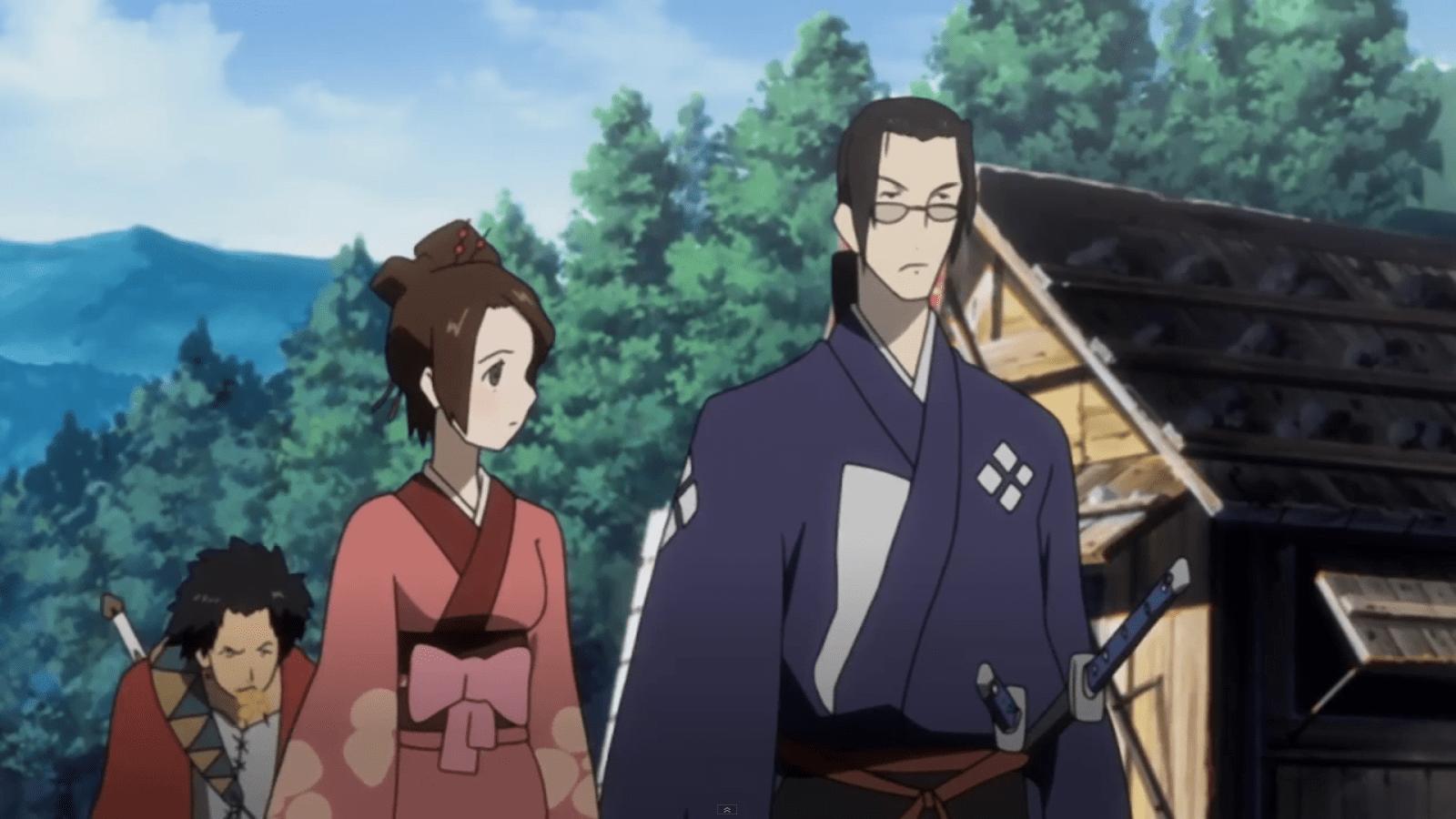 popular samurai anime, Samurai Champloo