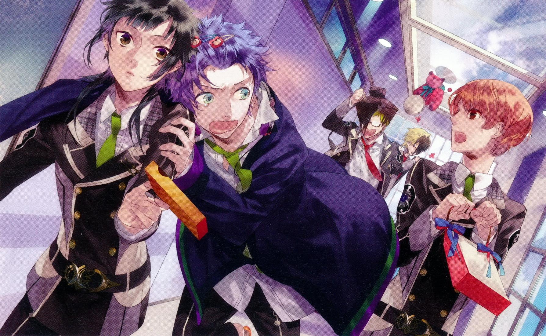 anime series like brothers conflict Starry Sky