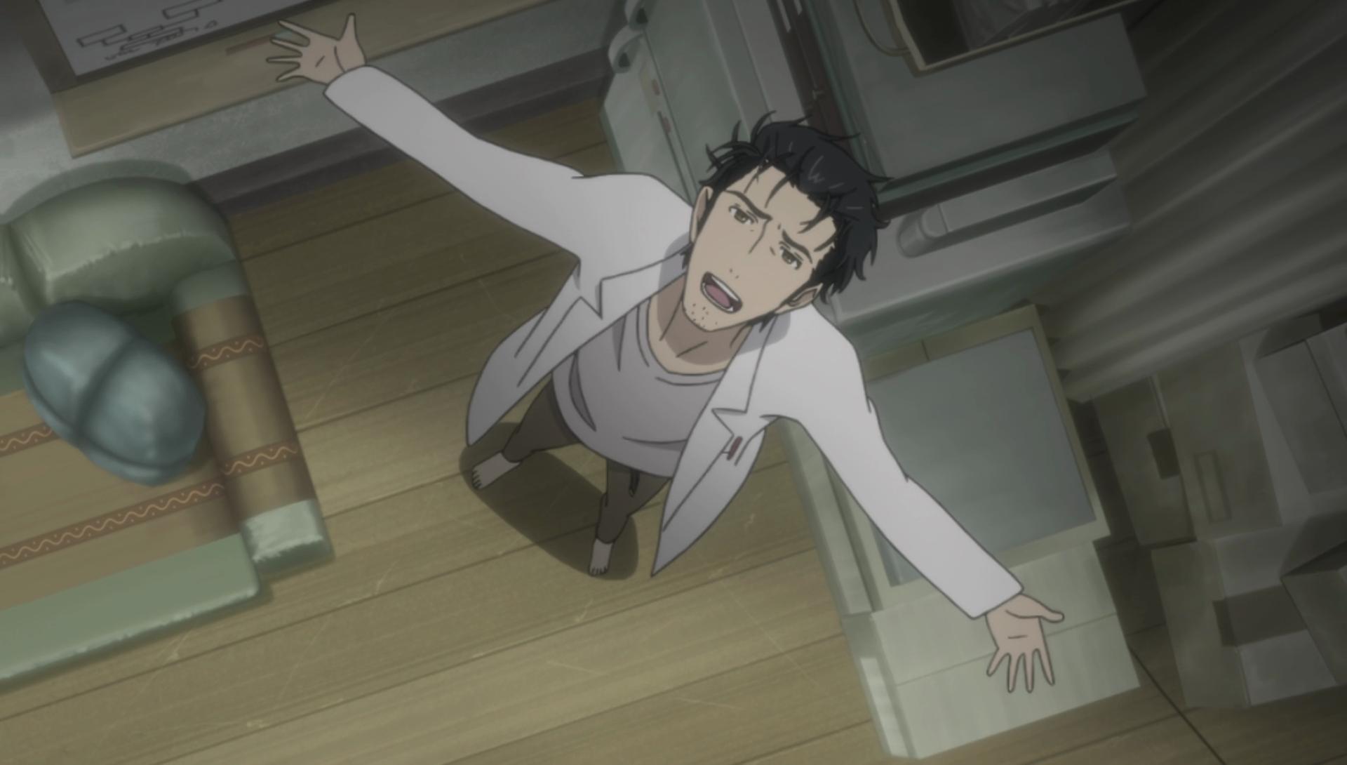 Emotional Time travel anime, Steins;Gate