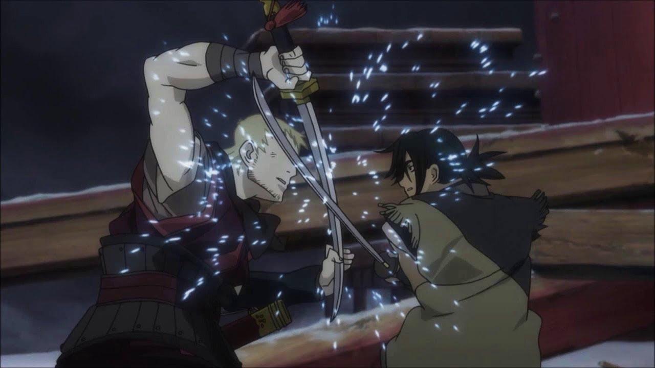 Best samurai anime movie, Sword of the Stranger