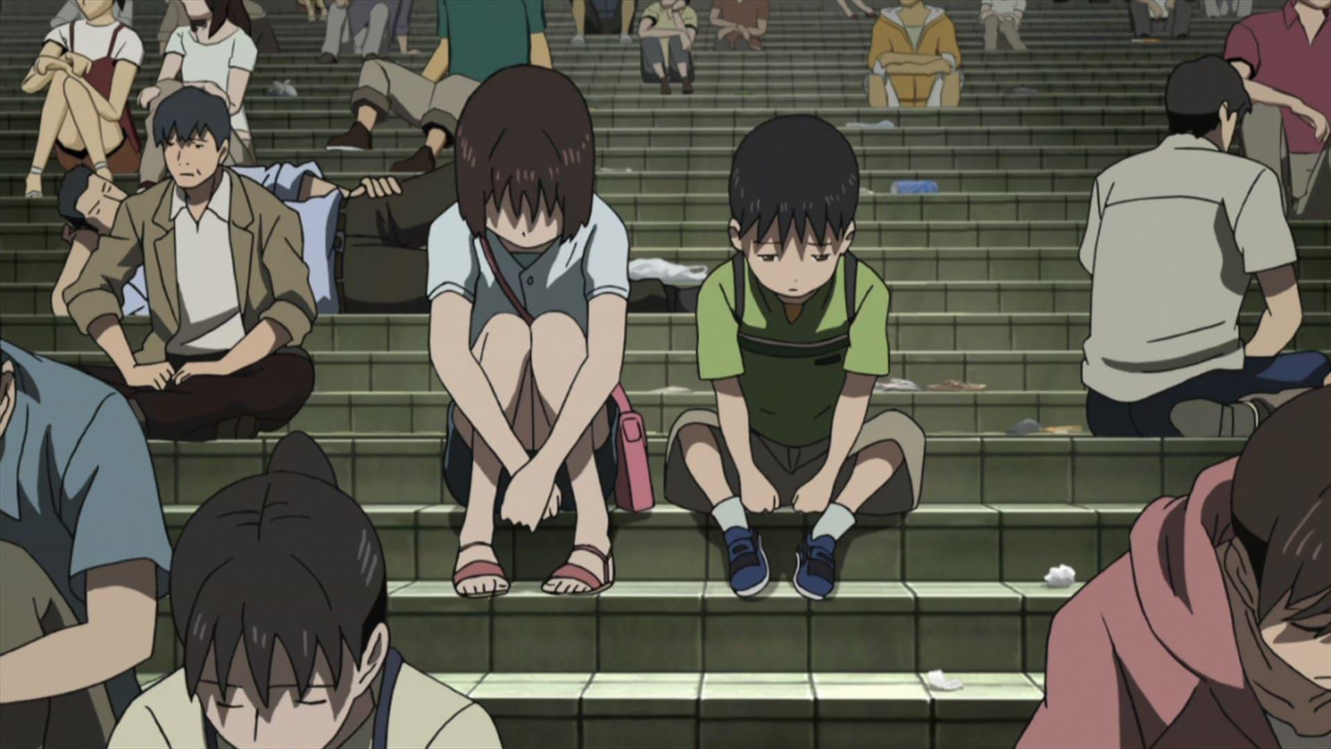 Sad Depressing Earthquake anime, Tokyo Magnitude 8.0