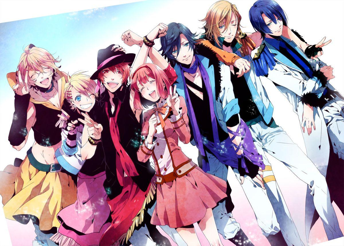 similar anime like brothers conflict Uta no Prince Sama