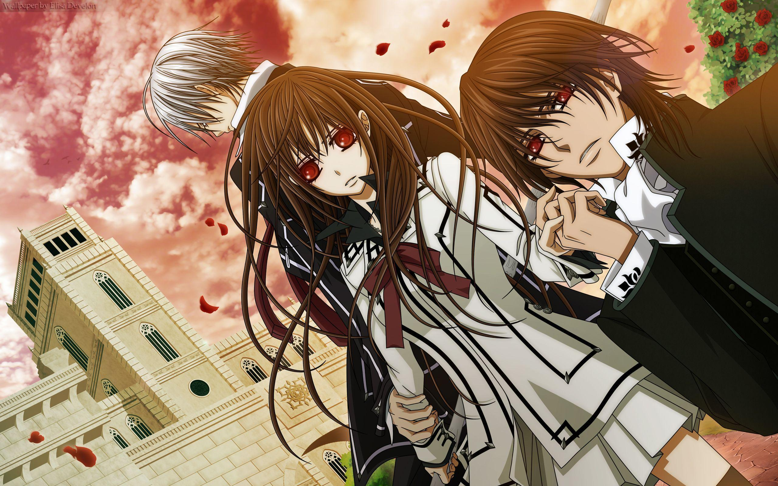 Anime like Dance With Devils, Vampire Knight