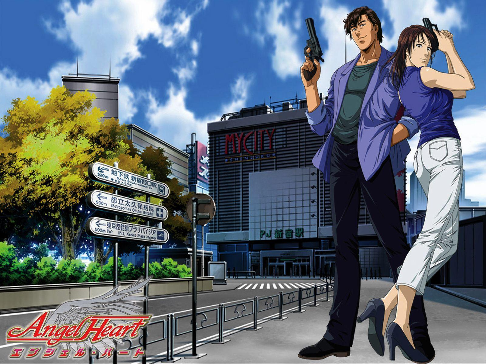 Heart transplant and detective anime like The Detective is already Dead, Angel Heart