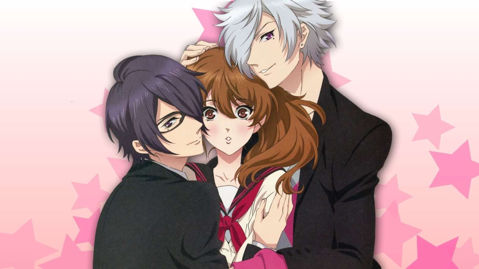 Romance anime like Diabolik Lovers, Brothers Conflict