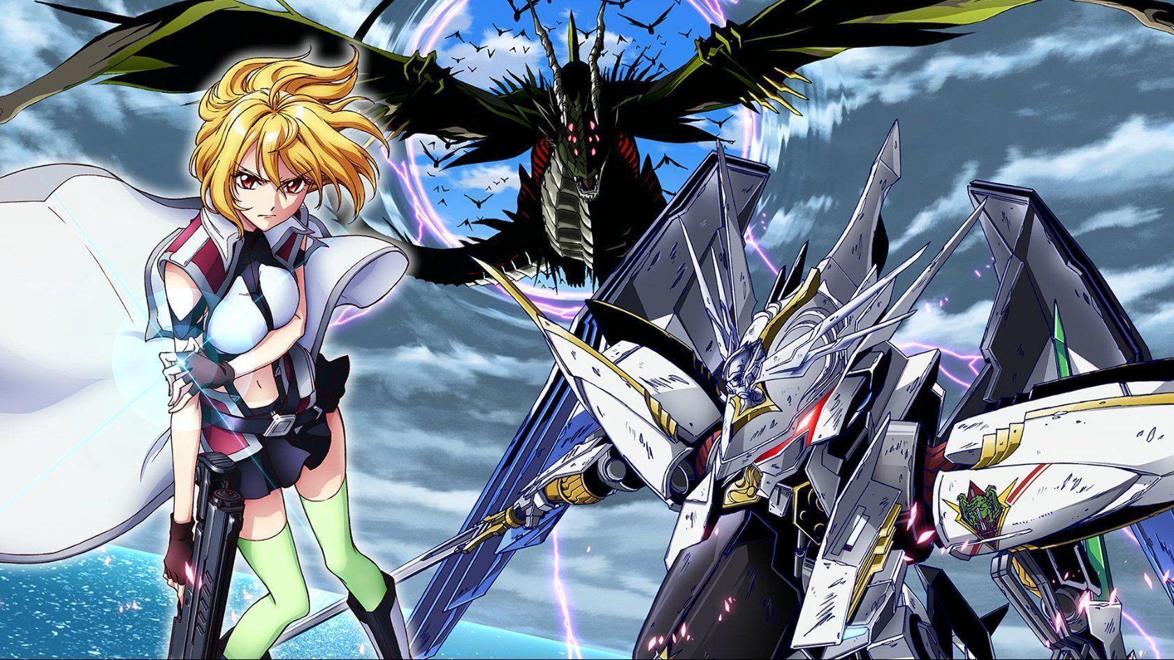 Dark anime like 86 (Eighty Six) Cross Ange Rondo of Angel and Dragon