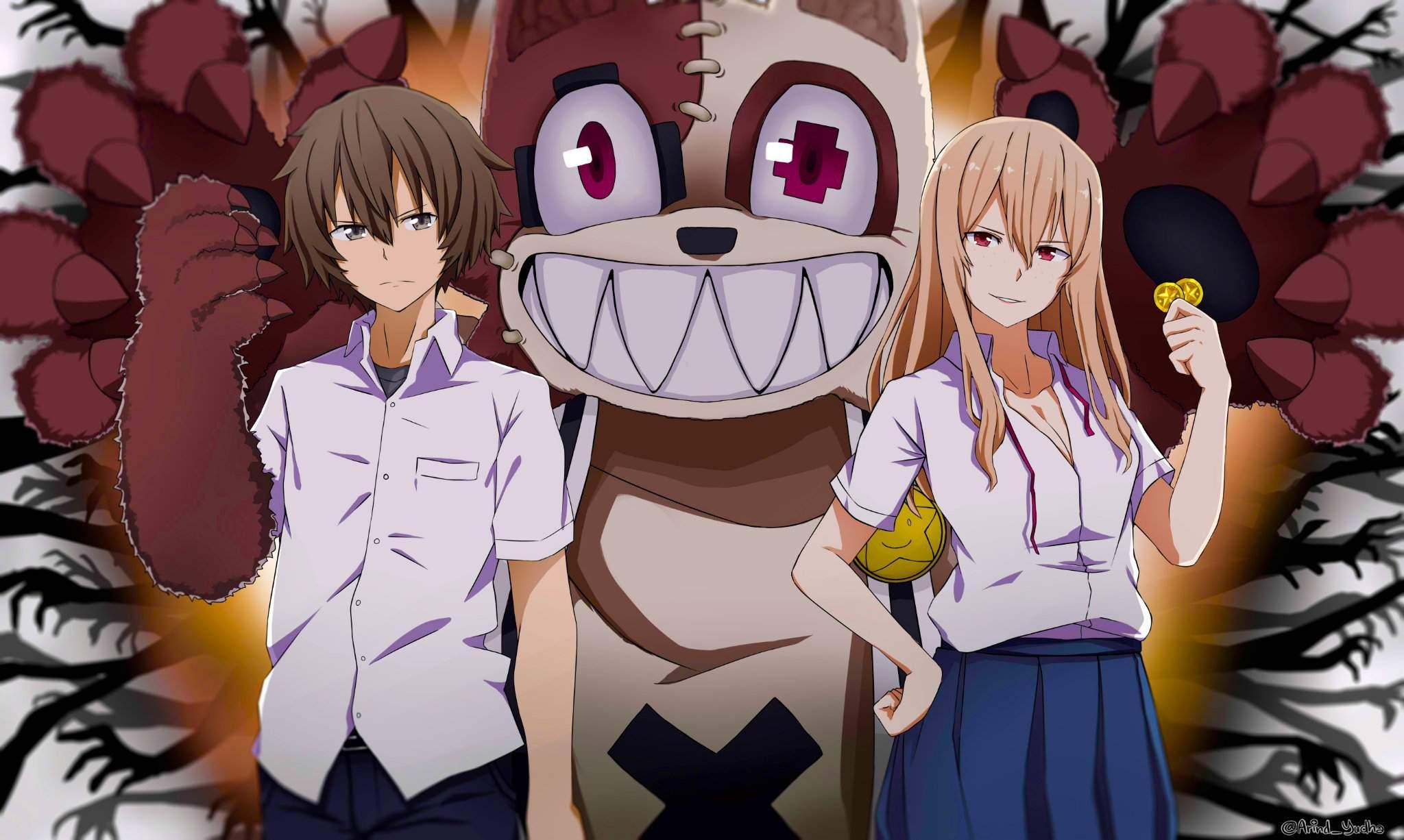 Horror Anime with Weak Male MC Like Don't Mess With Me, Miss Nagatoro, Gleipnir