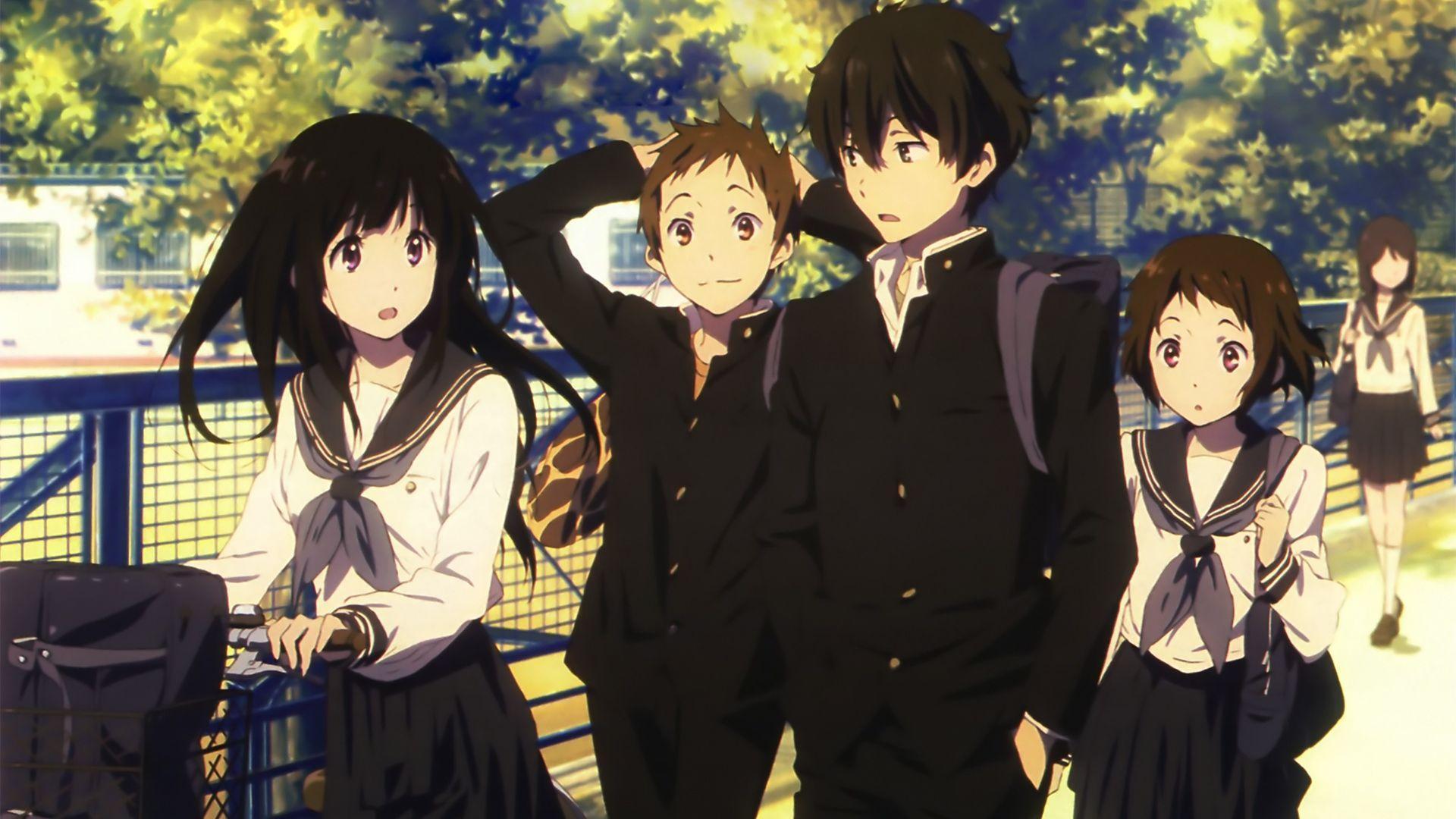 Romantic, high school anime like The Detective Is Already Dead, Hyouka