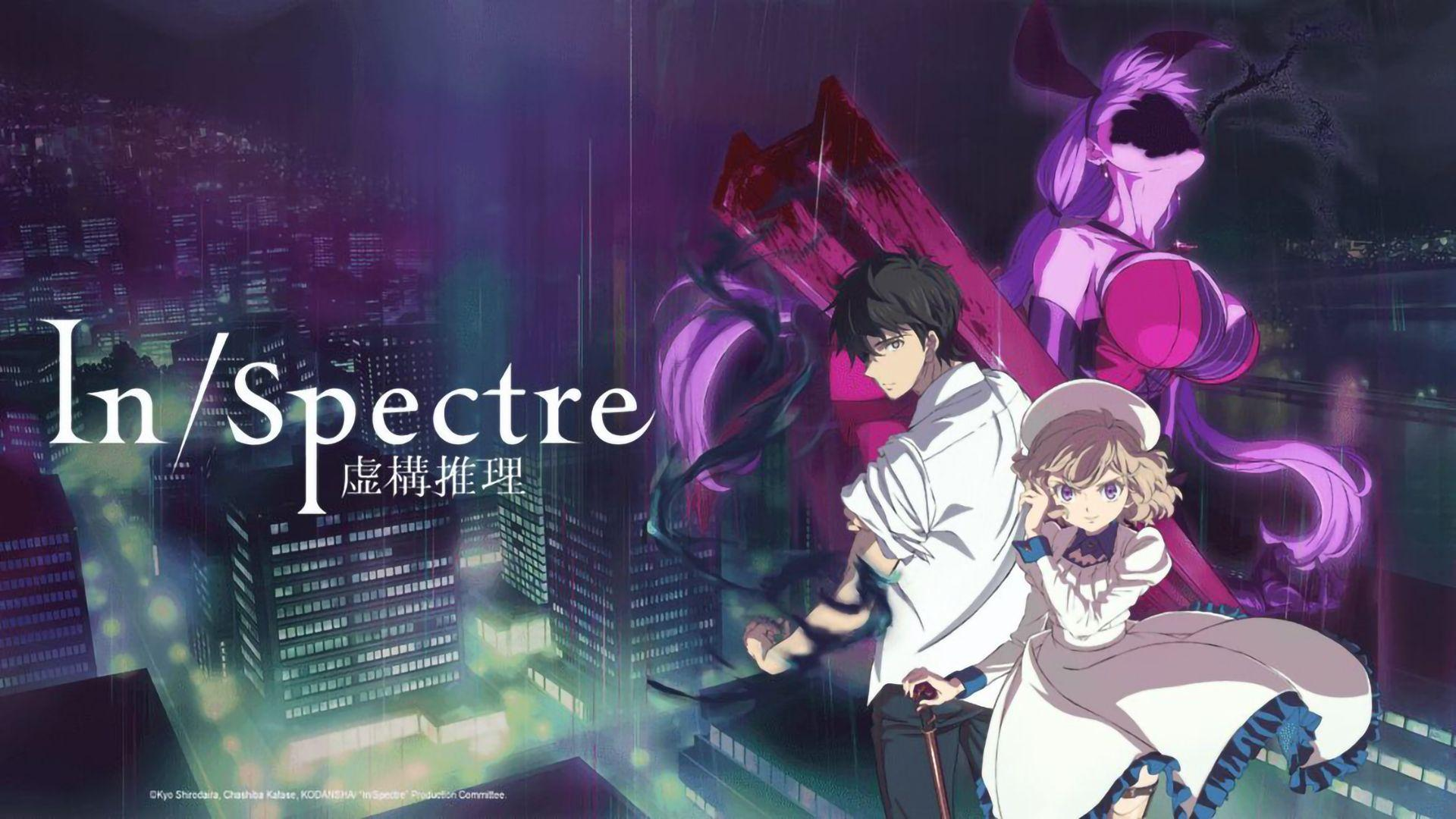 Mysterious anime similar to The Detective Is Already Dead, In/Spectre