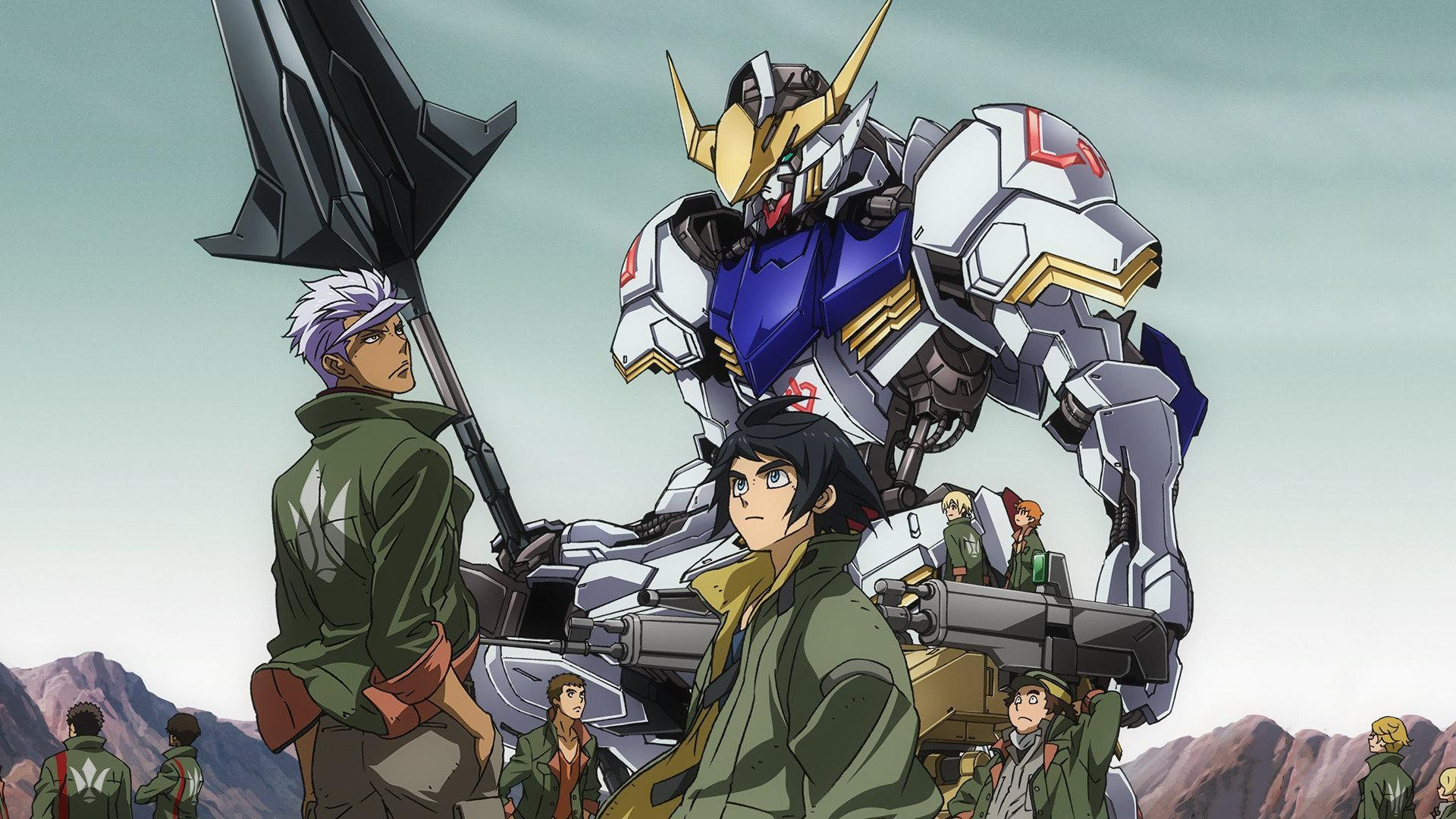 anime about orphans, similar to 86 (Eighty Six) Mobile Suit Gundam Iron-Blooded Orphans