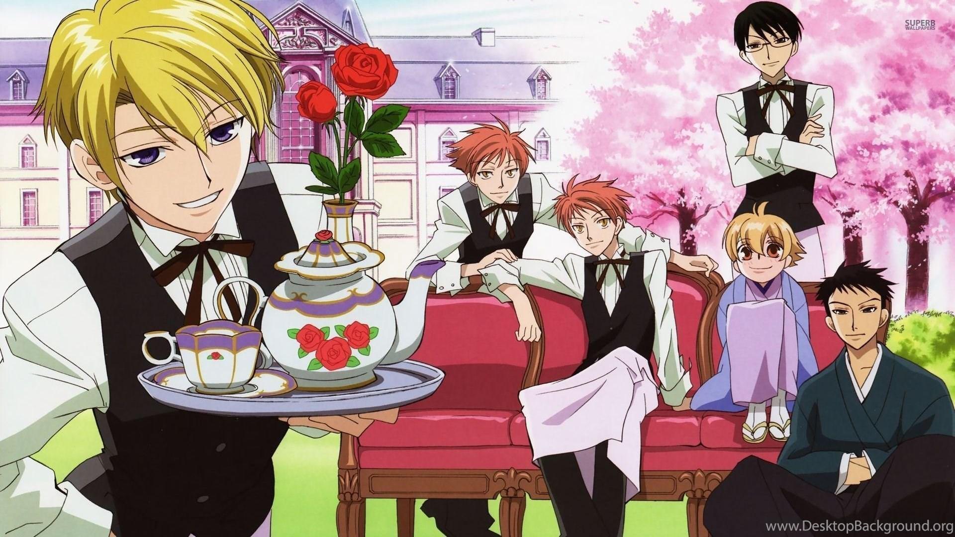 High school romance anime like Diabolik Lovers, Ouran High School Host Club
