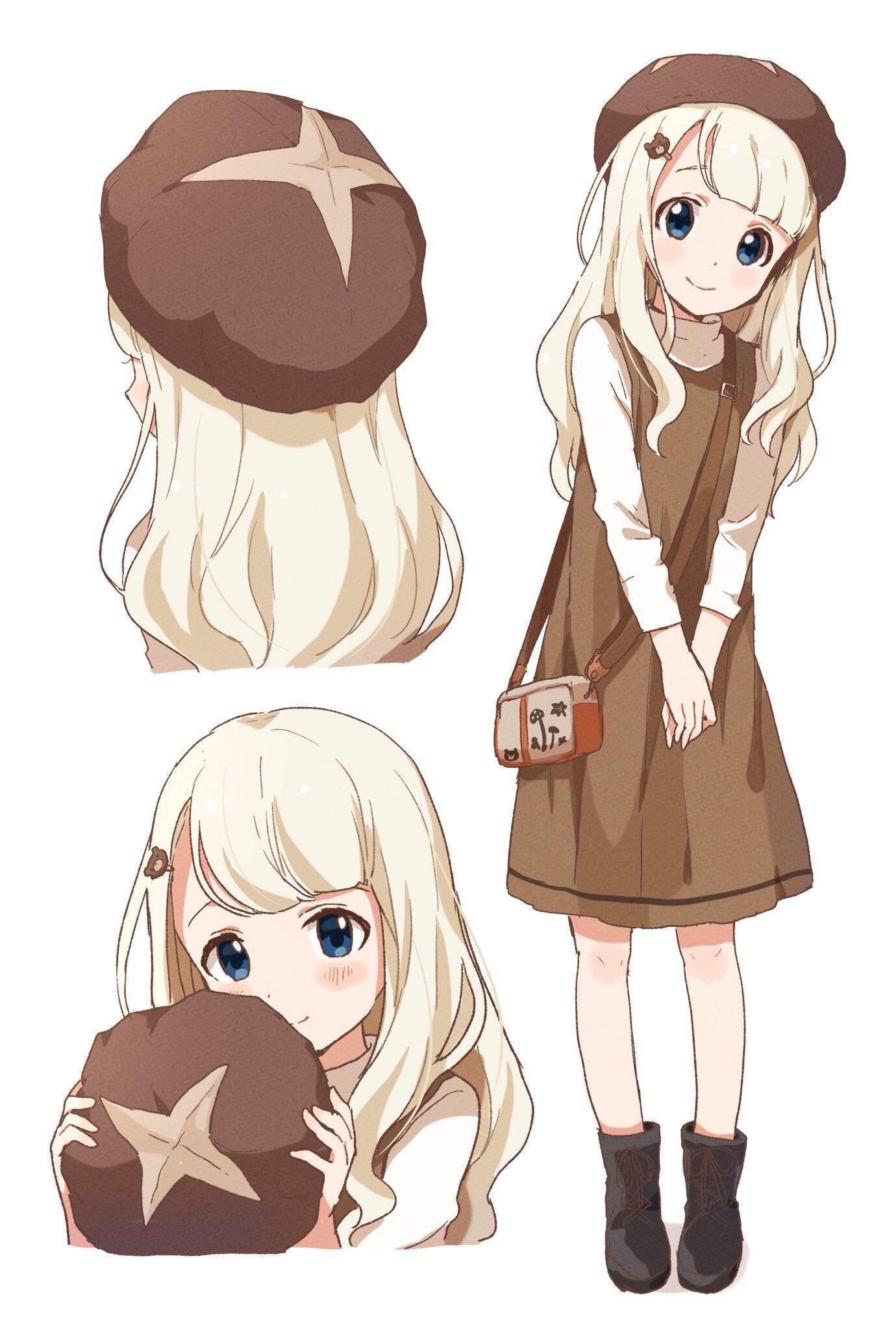 Moe Stop button, Shiitake-chan