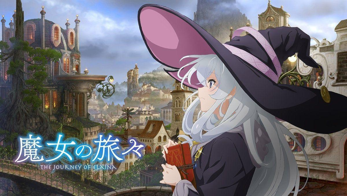 anime on witches adventure, Wandering Witch The Journey of Elaina like To Your Eternity