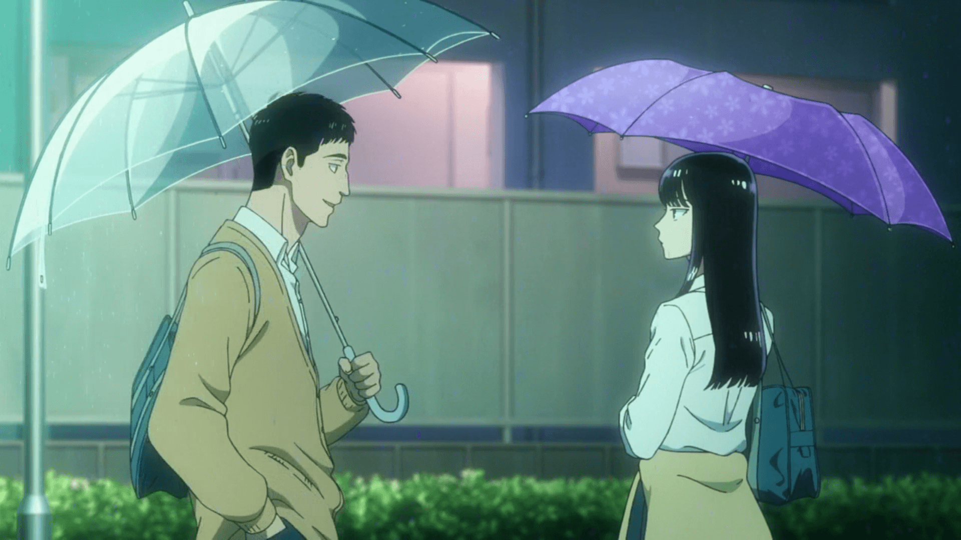 romantic anime like Higehiro, After the Rain