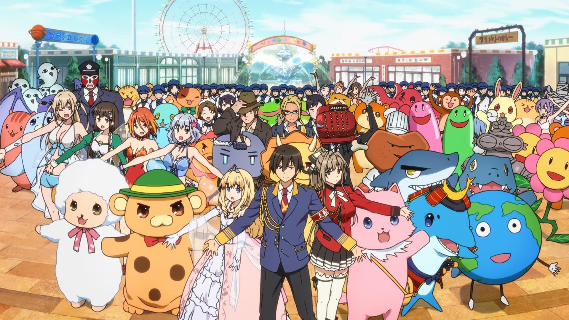Theme park anime like how a realist hero rebuilt the kingdom, Amagi Brilliant Park